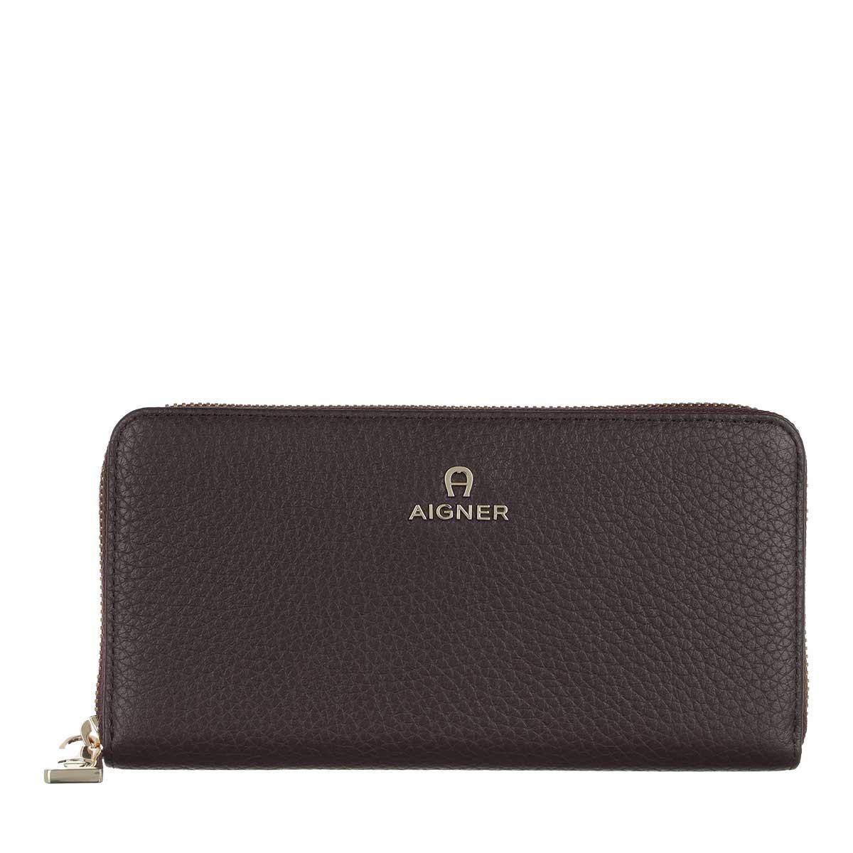 Aigner Portemonnaie - Ivy Long Wallet Java Brown - in braun - für Damen