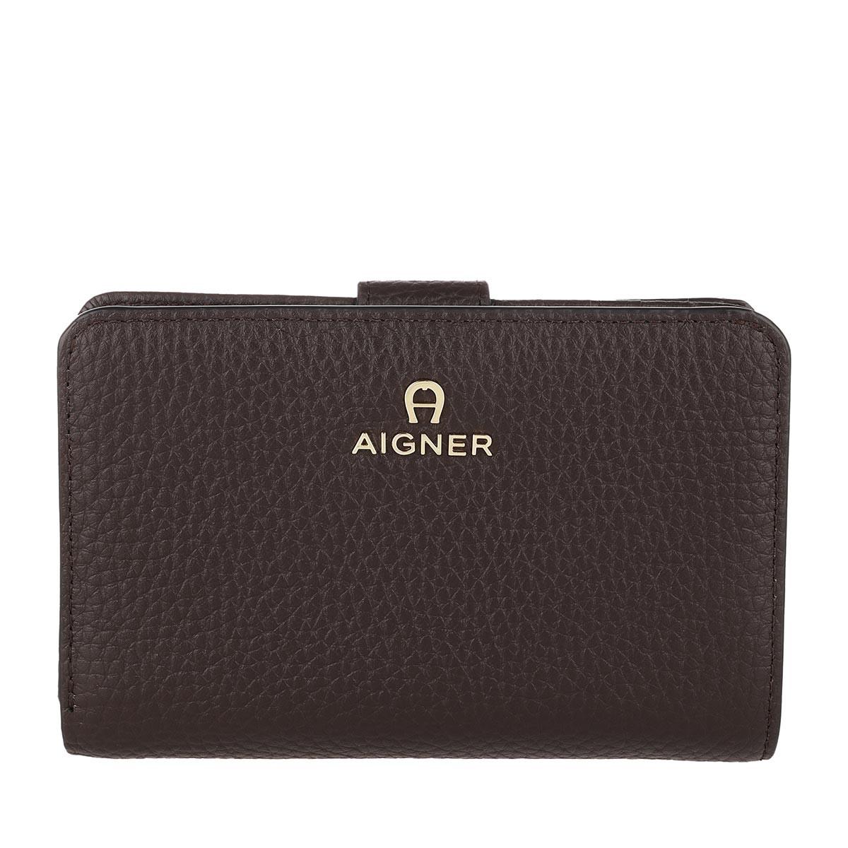 Aigner Portemonnaie - Ivy Trifold Wallet Java Brown - in braun - für Damen