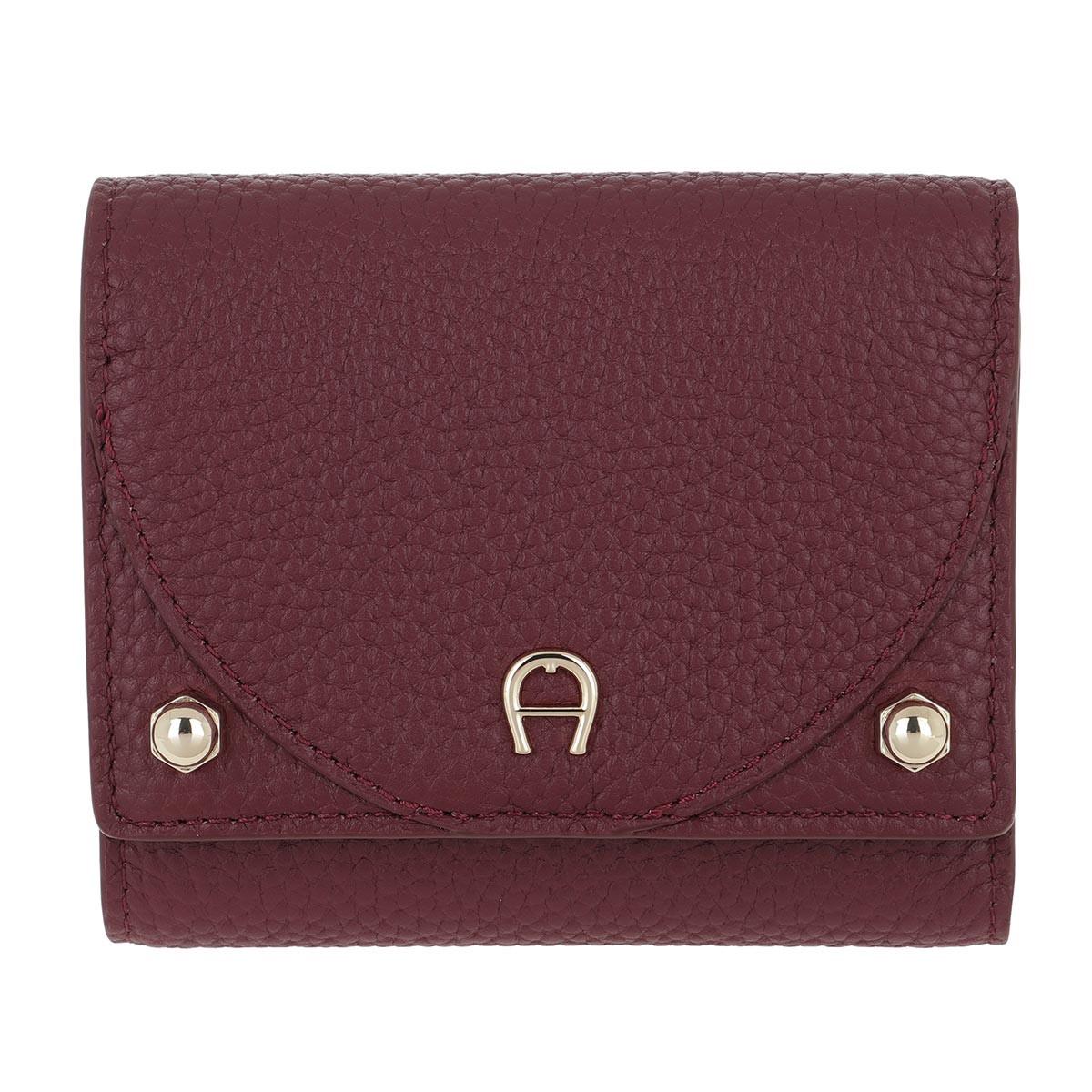 Aigner Portemonnaie - Wallet Diadora Burgundy - in rot - für Damen