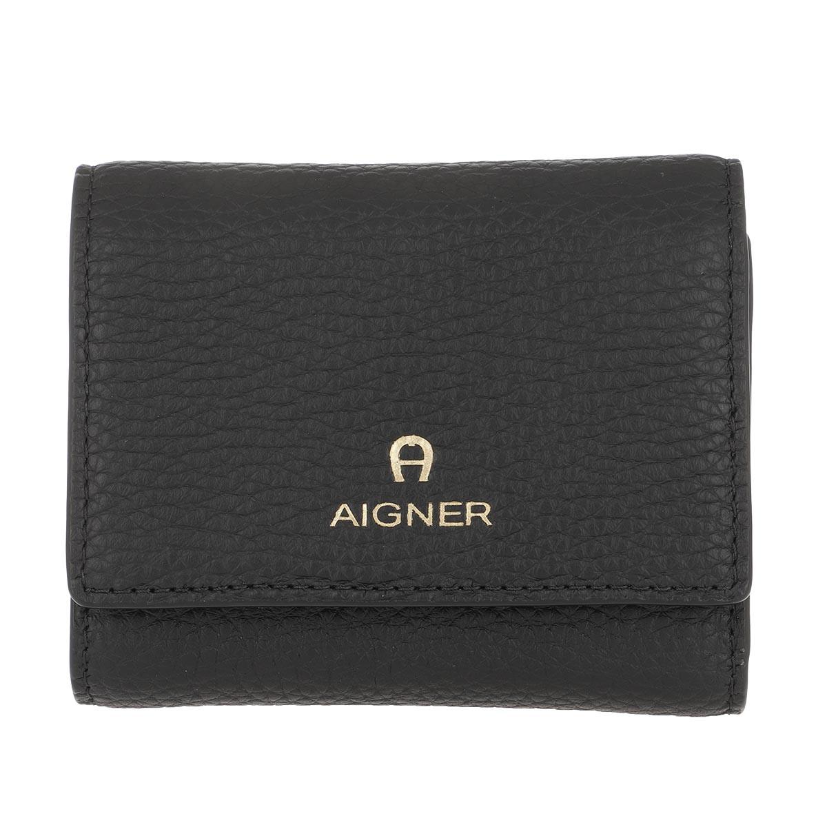 Aigner Portemonnaie - Wallet Ivy Black - in schwarz - für Damen