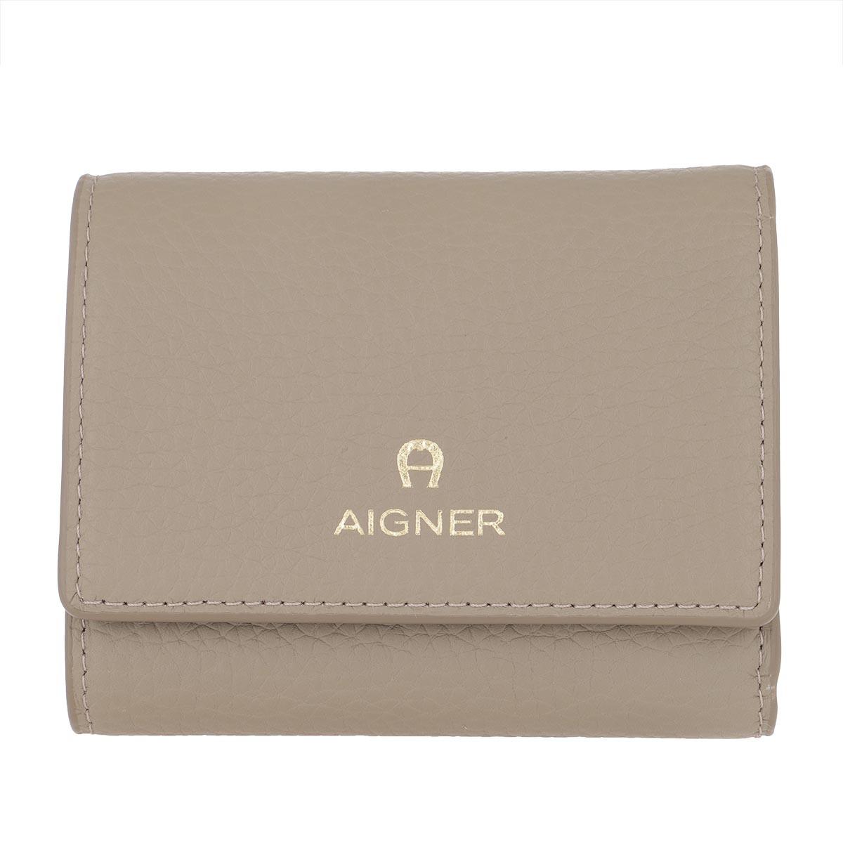 Aigner Portemonnaie - Wallet Ivy Feather Grey - in beige - für Damen