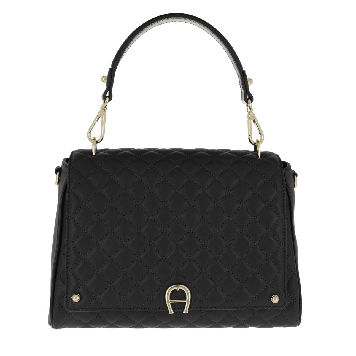 Aigner Satchel Bag - Garda M Crossbody Bag Black - in schwarz - für Damen