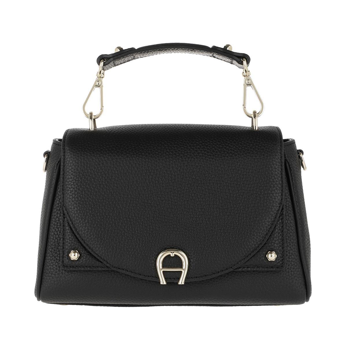 Aigner Satchel Bag - Handle Bag Diadora Black - in schwarz - für Damen