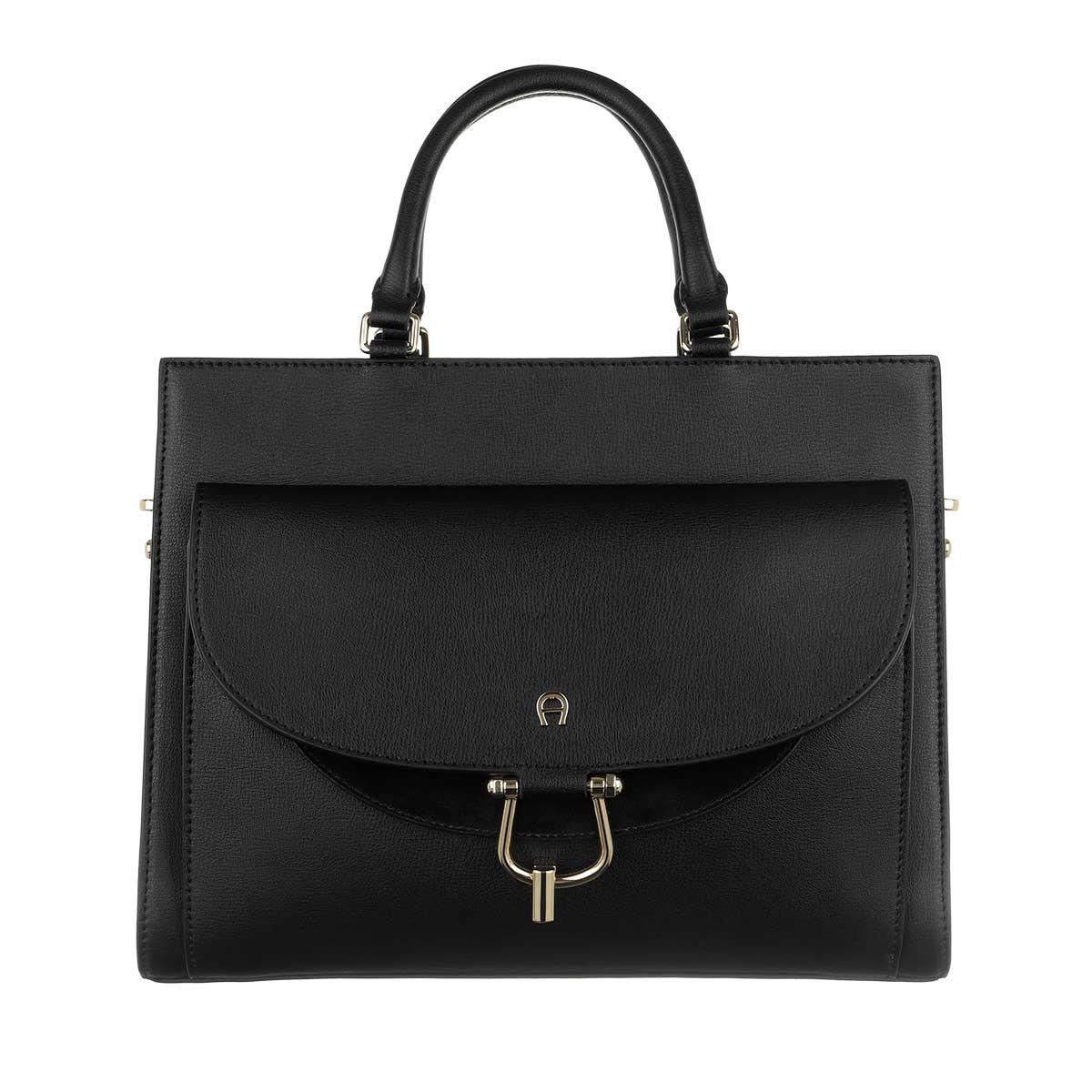 Aigner Tote - Flora Handle Bag Black - in schwarz - für Damen