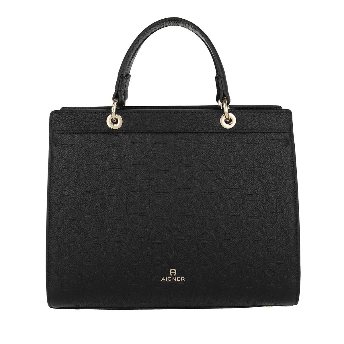 Aigner Tote - Handle Bag Carol Black - in schwarz - für Damen