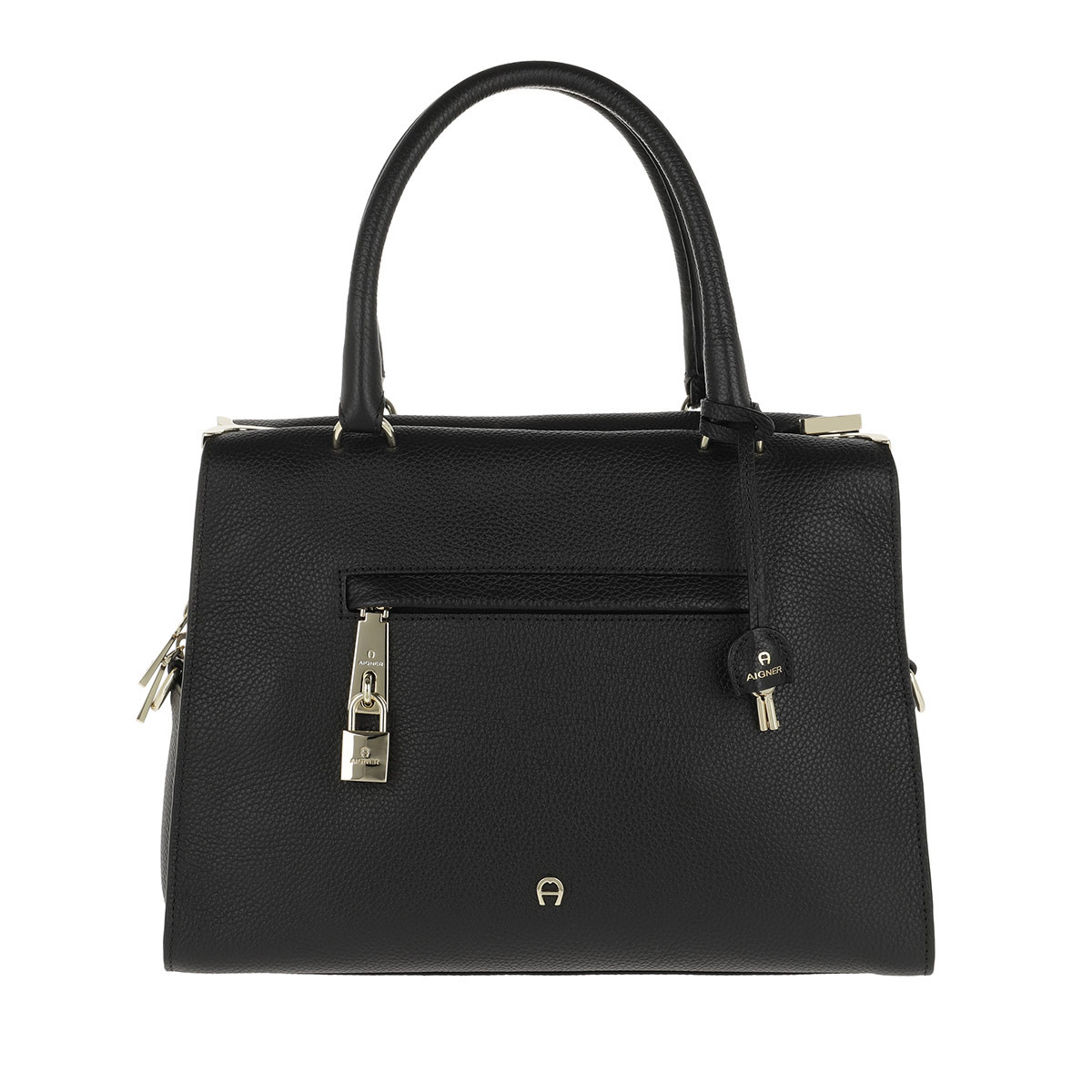 Aigner Tote - Kaia M Handle Bag Black - in schwarz - für Damen