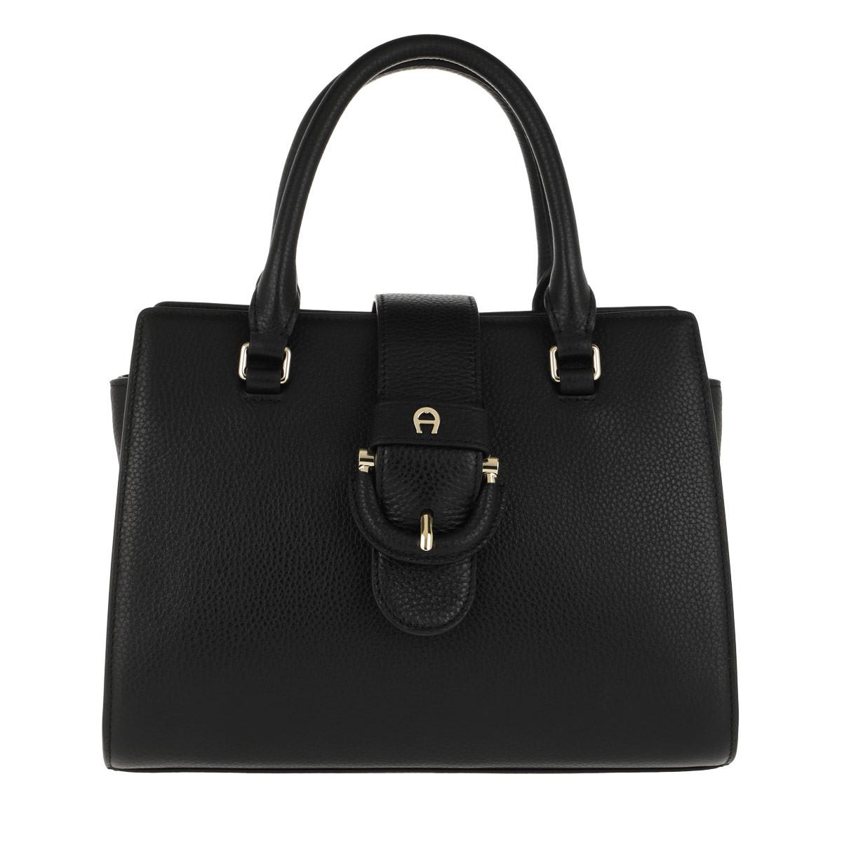 Aigner Tote - Kira S Handle Bag Black - in schwarz - für Damen