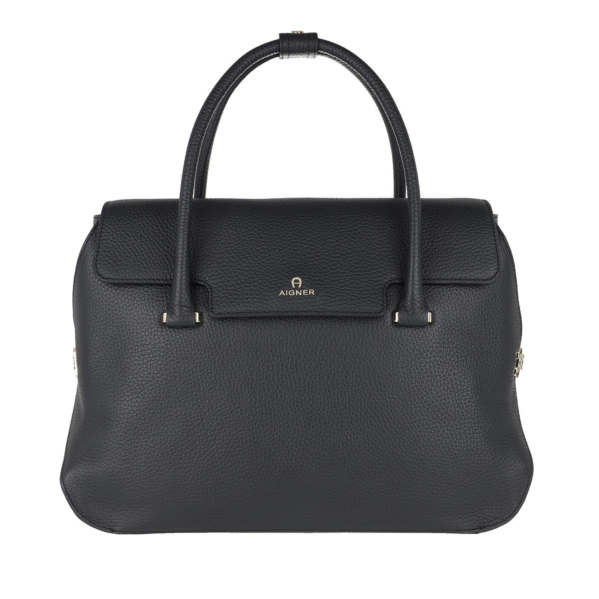 Aigner Tote - Milano Handle Bag Ink - in blau - für Damen