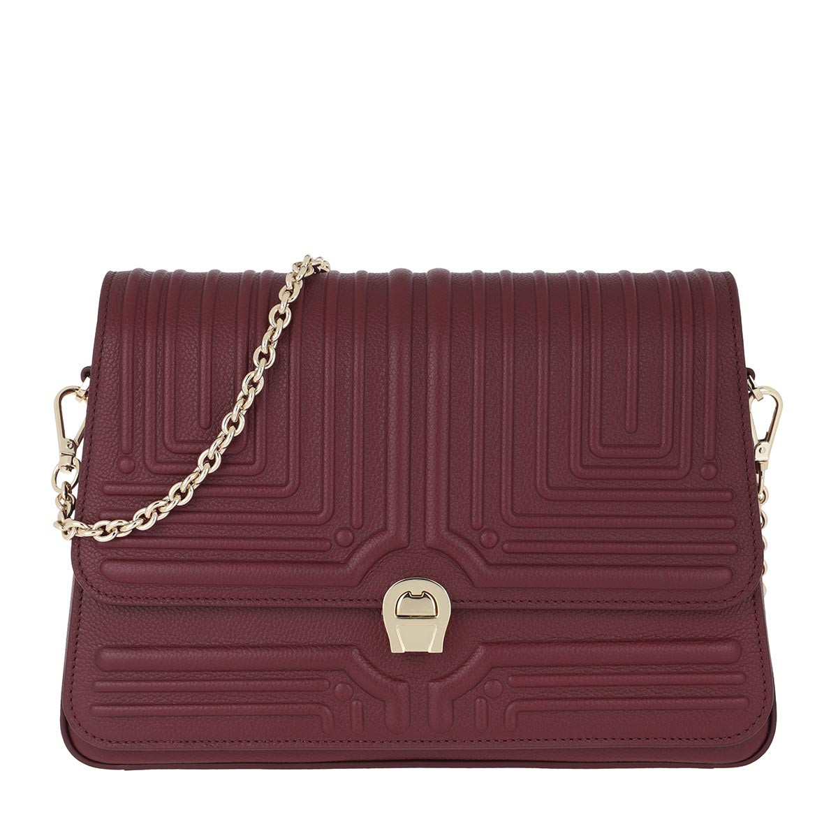 Aigner Umhängetasche - Crossbody Bag Burgundy - in rot - für Damen