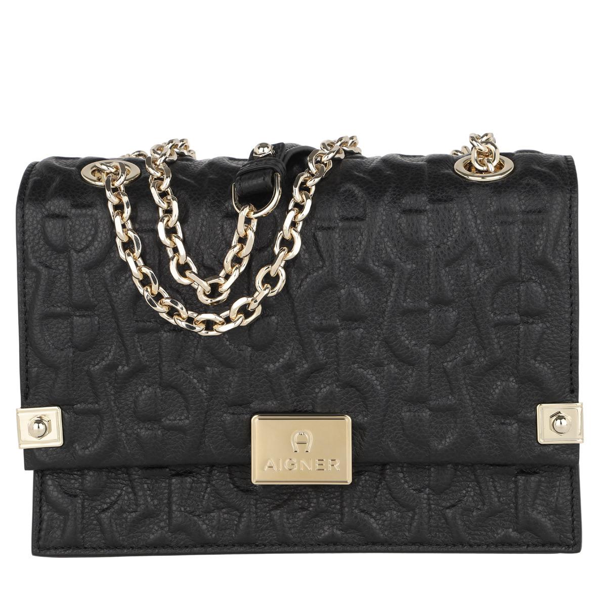 Aigner Umhängetasche - Crossbody Bag Dea Black - in schwarz - für Damen