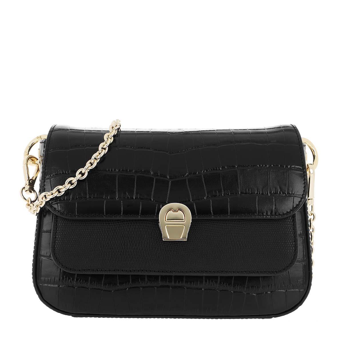 Aigner Umhängetasche - Crossbody Bag Genoveva Black - in schwarz - für Damen