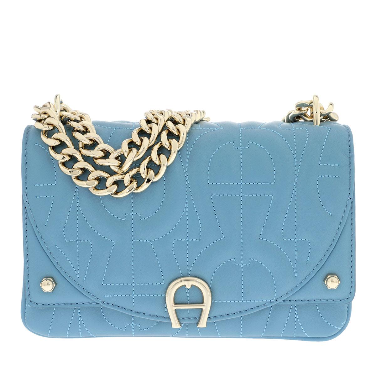 Aigner Umhängetasche - Diadora Handle Bag Dusk Blue - in blau - für Damen