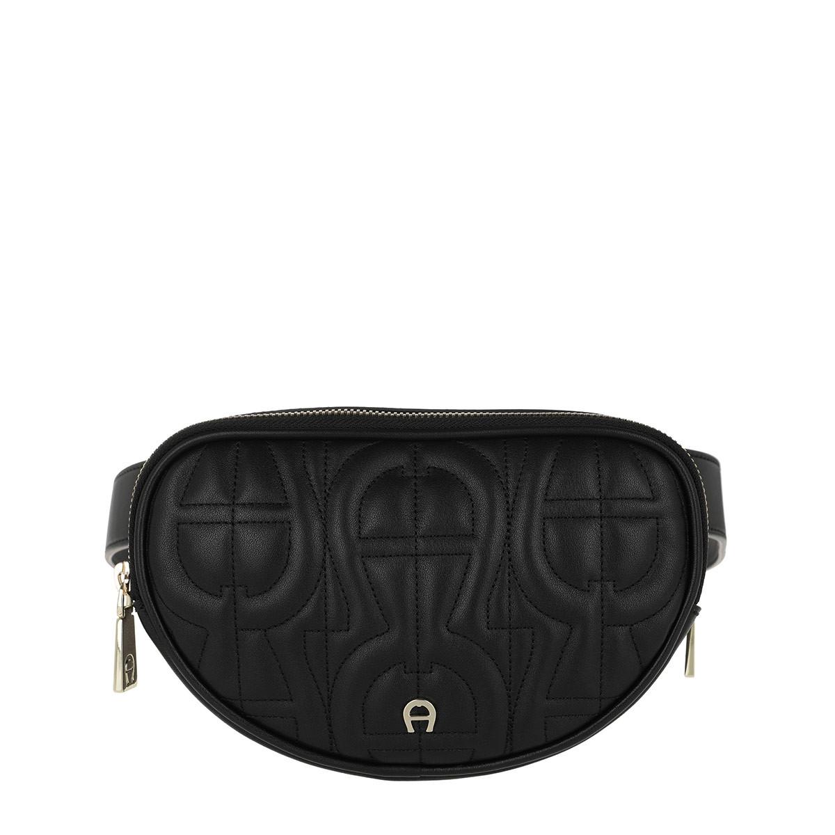 Aigner Umhängetasche - Diadora S Belt Bag Black - in schwarz - für Damen