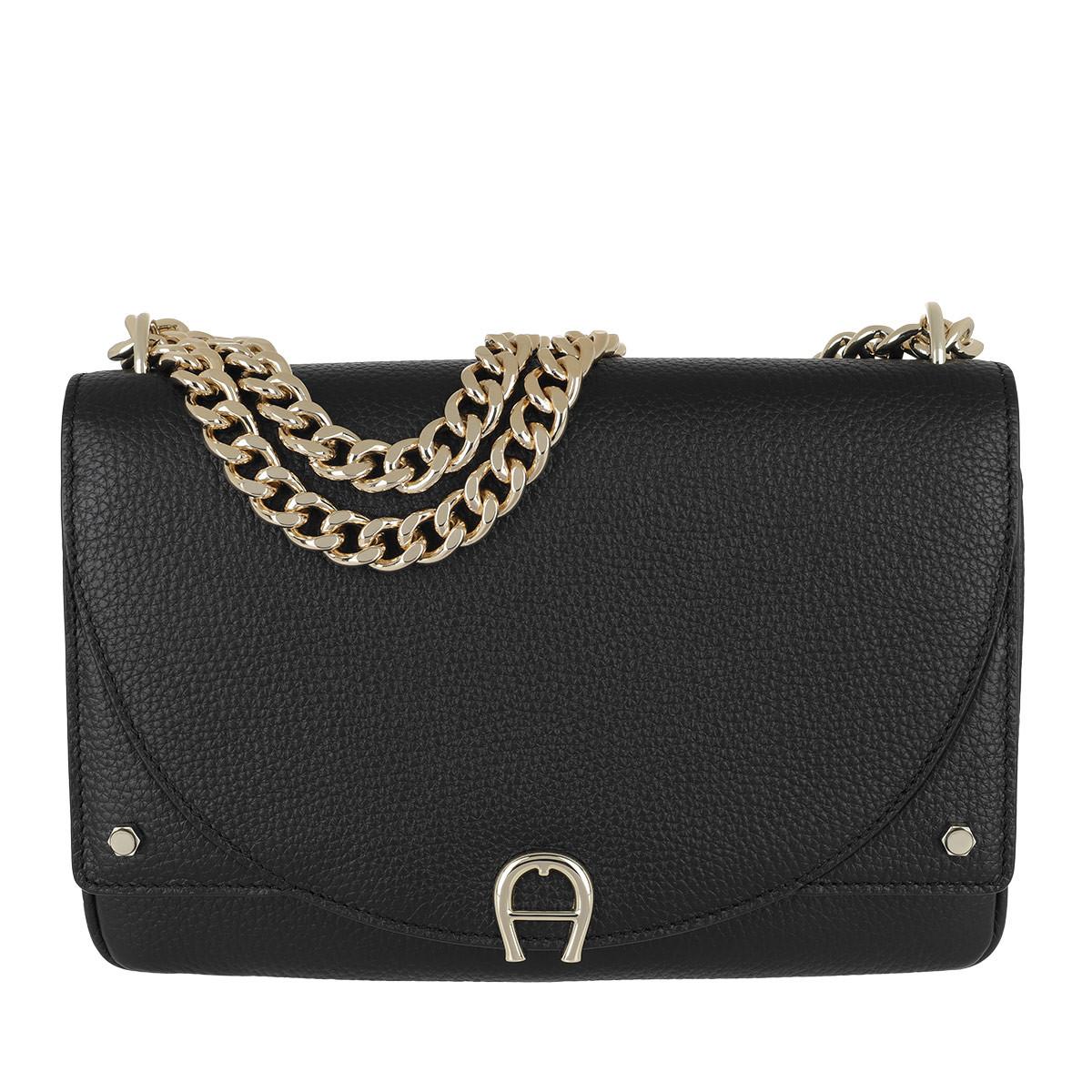 Aigner Umhängetasche - Diadora S Crossbody Bag Black - in schwarz - für Damen