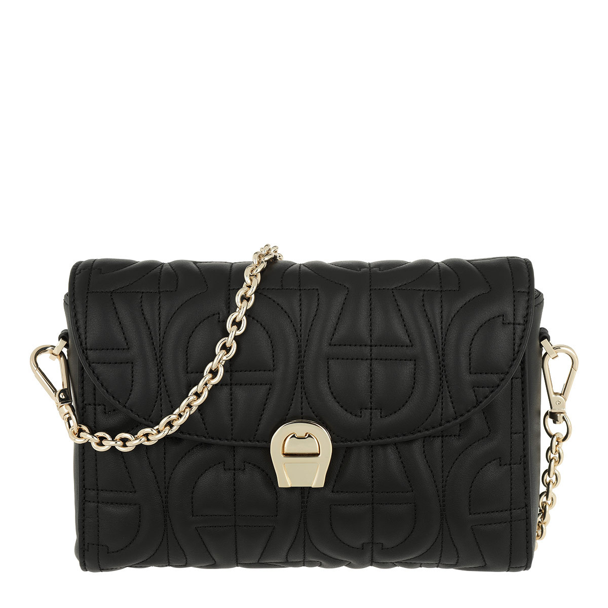 Aigner Umhängetasche - Genoveva S Crossbody Bag Black - in schwarz - für Damen