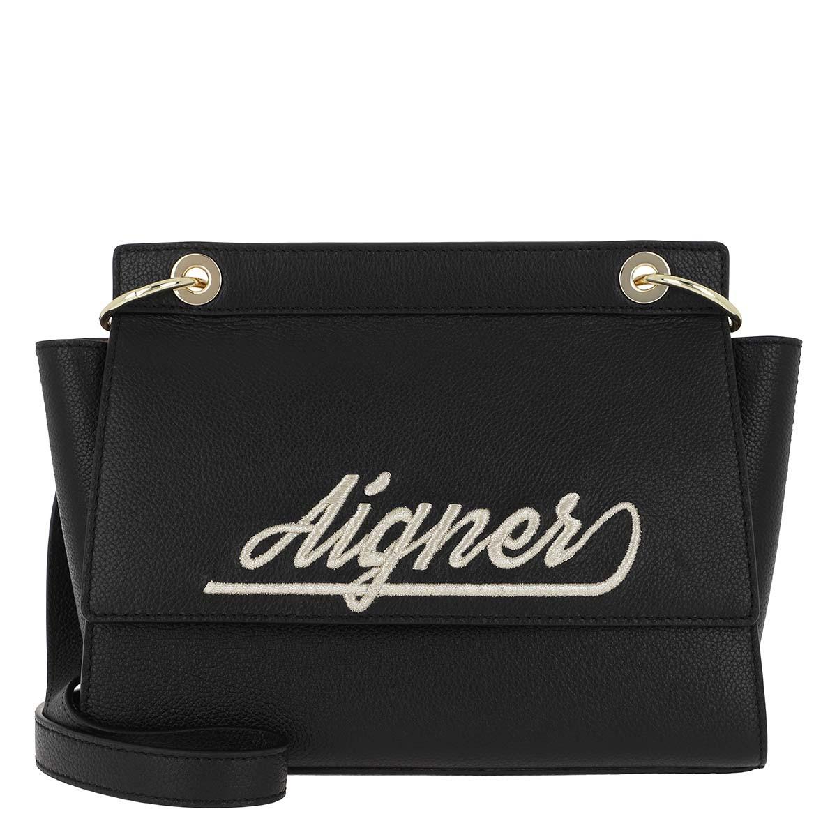 Aigner Umhängetasche - Gloria S Crossbody Bag Black - in schwarz - für Damen