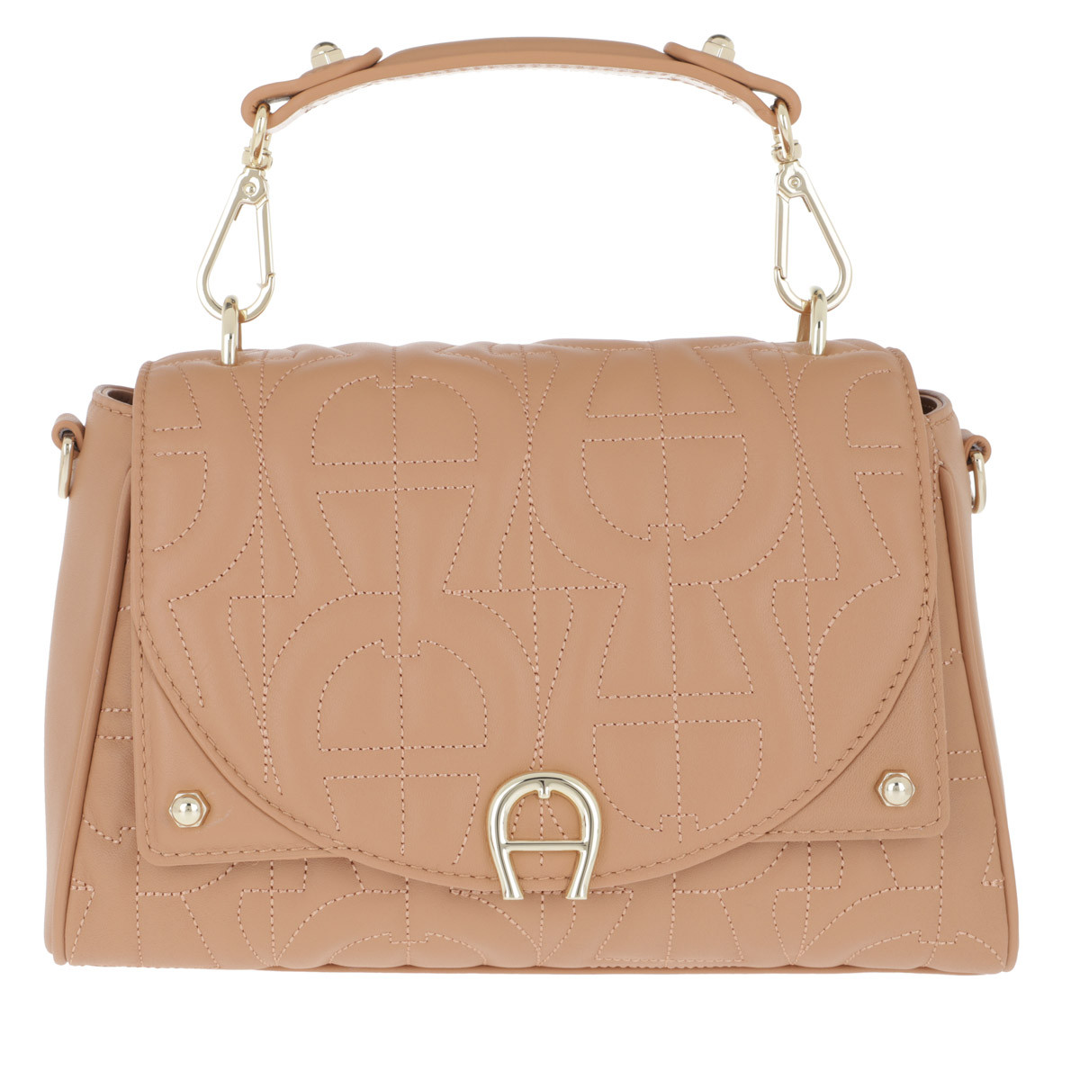 Aigner Umhängetasche - Logo Print Bag Diadora Vacchetta Brown - in braun - für Damen