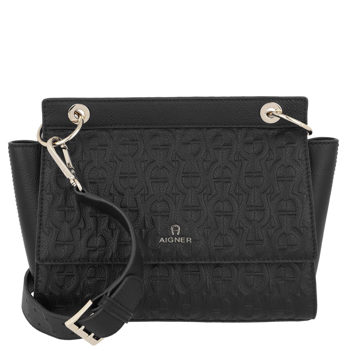Aigner Umhängetasche - Mini Bag Carol Black - in schwarz - für Damen