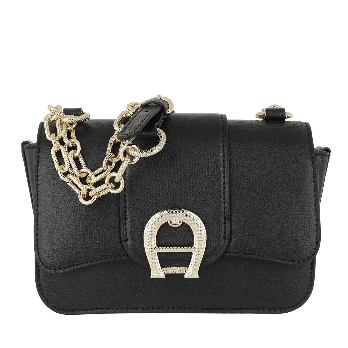 Aigner Umhängetasche - Verona Crossbody Bag Black - in schwarz - für Damen