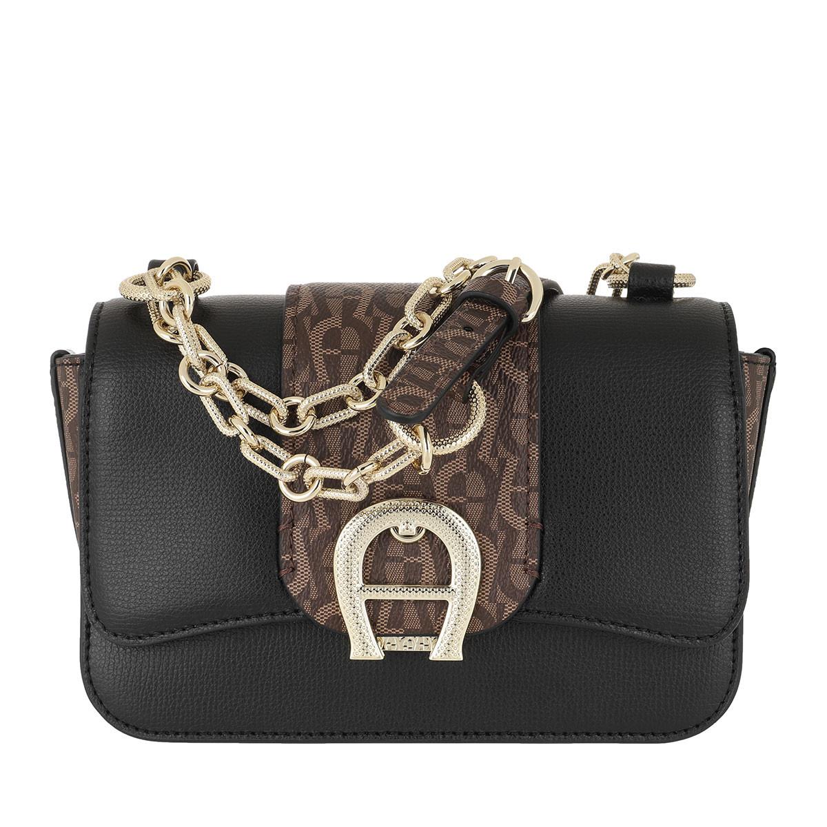 Aigner Umhängetasche - Verona Small Crossbody Bag Fango - in schwarz - für Damen