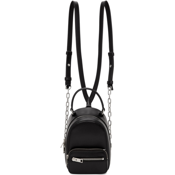 Alexander Wang Black Mini Attica Backpack