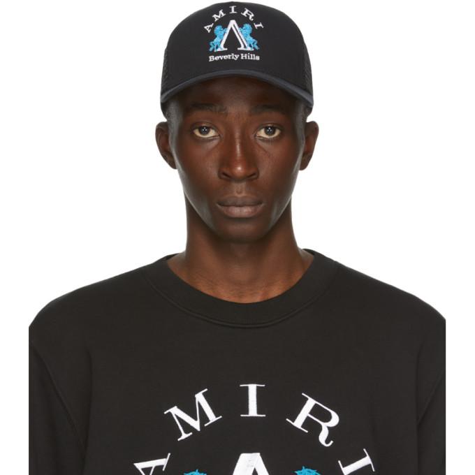 Amiri Black Beverly Hills Cap