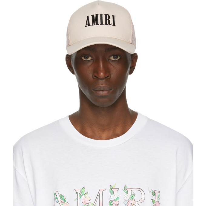 Amiri Pink Logo Cap