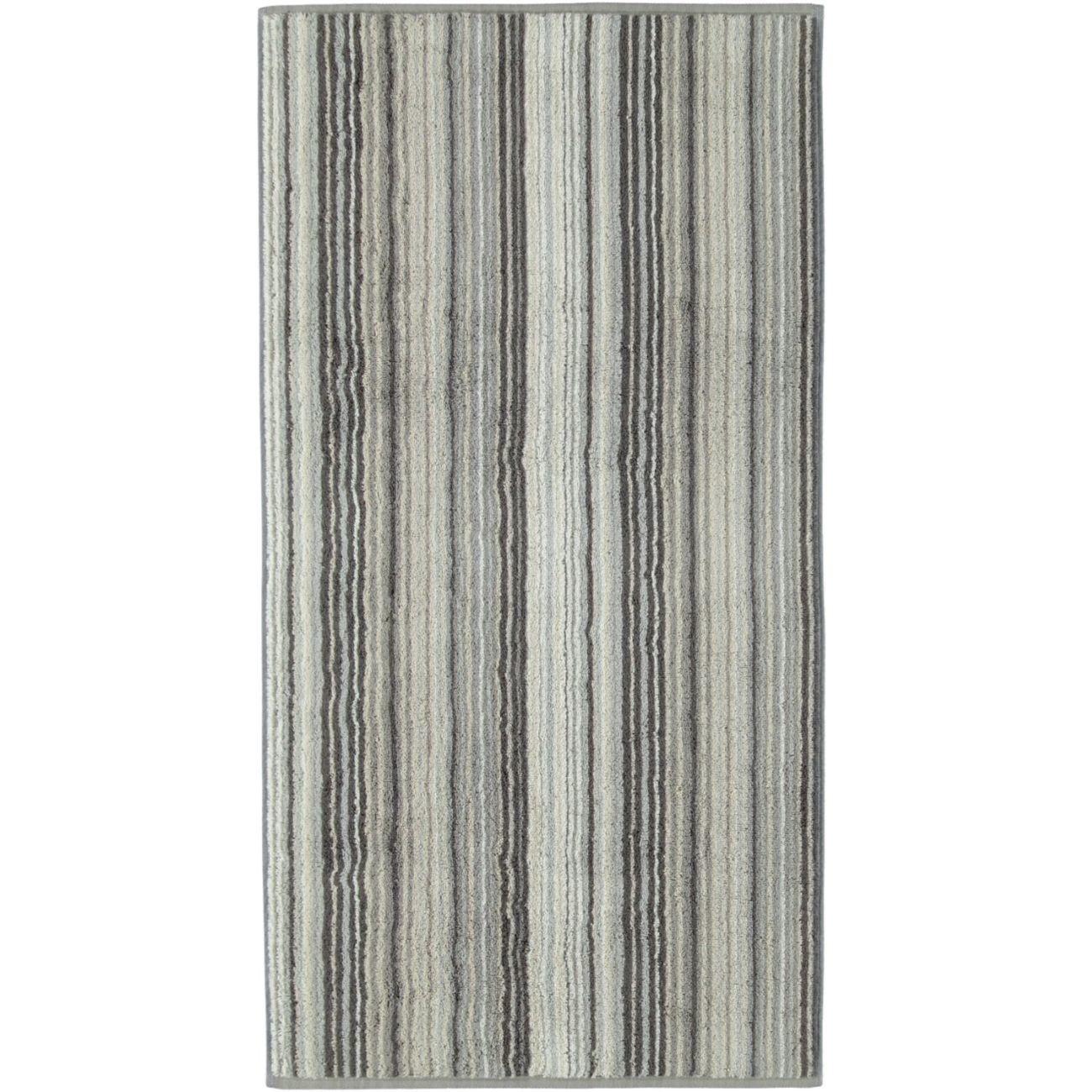 Cawö Two-Tone Multistripe Handtuch