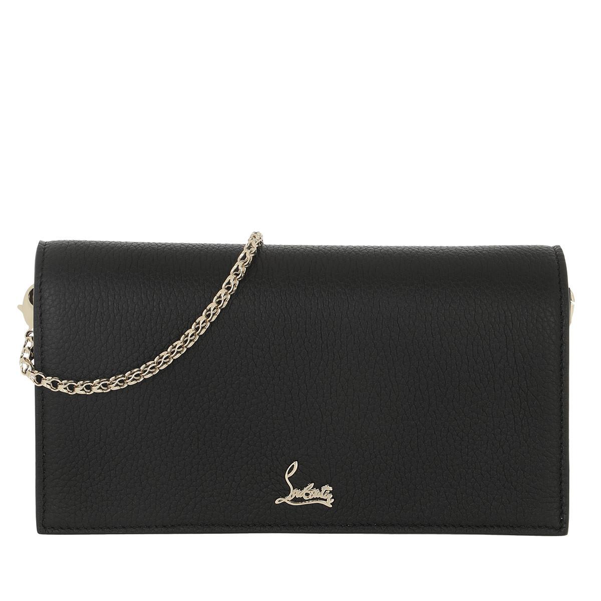 Christian Louboutin Gürteltasche - Boudoir Chain Belt Bag Leather Black - in schwarz - für Damen