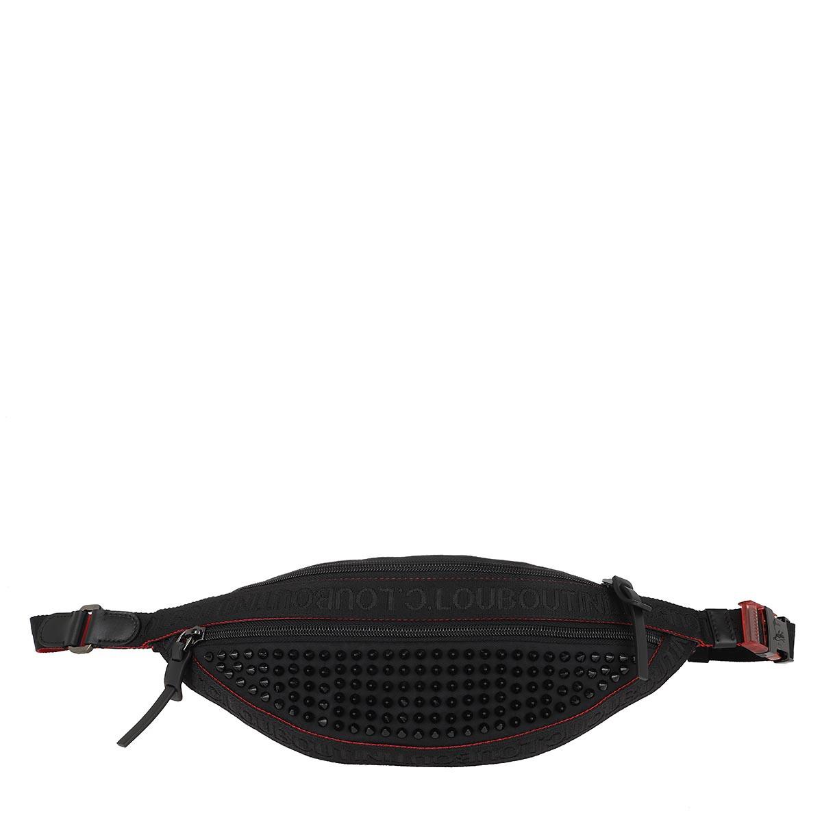 Christian Louboutin Gürteltasche - ParisNyc Belt Bag Black - in schwarz - für Damen