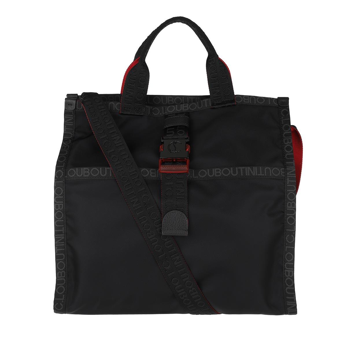Christian Louboutin Shopper - Men Loubiclic Tote Bag Black/Black - in schwarz - für Damen