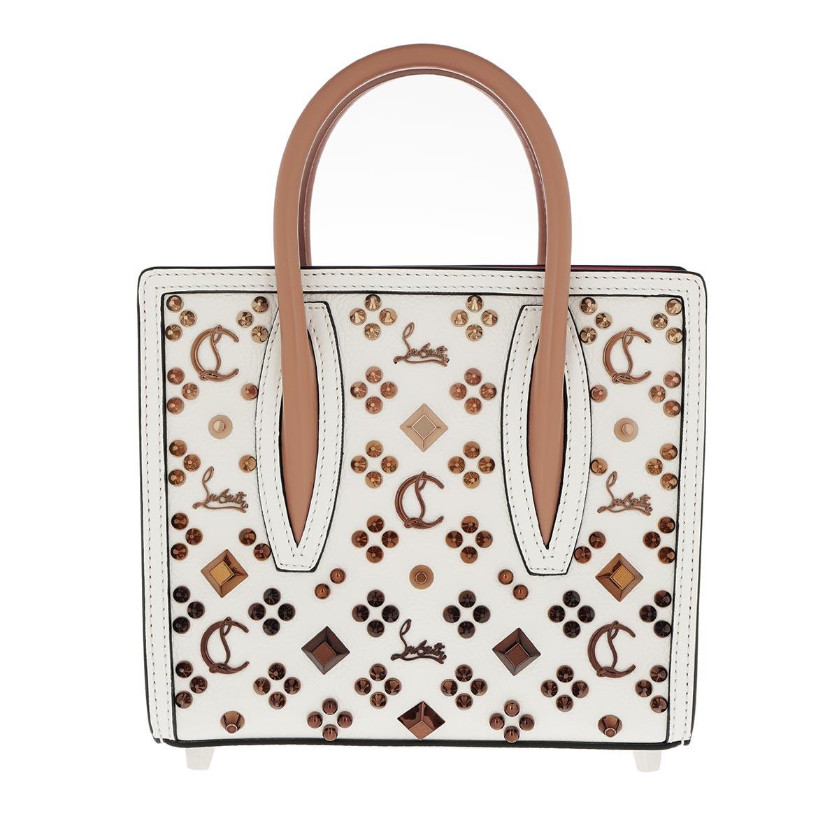 Christian Louboutin Tote - Paloma S Mini Bag Leather White - in weiß - für Damen