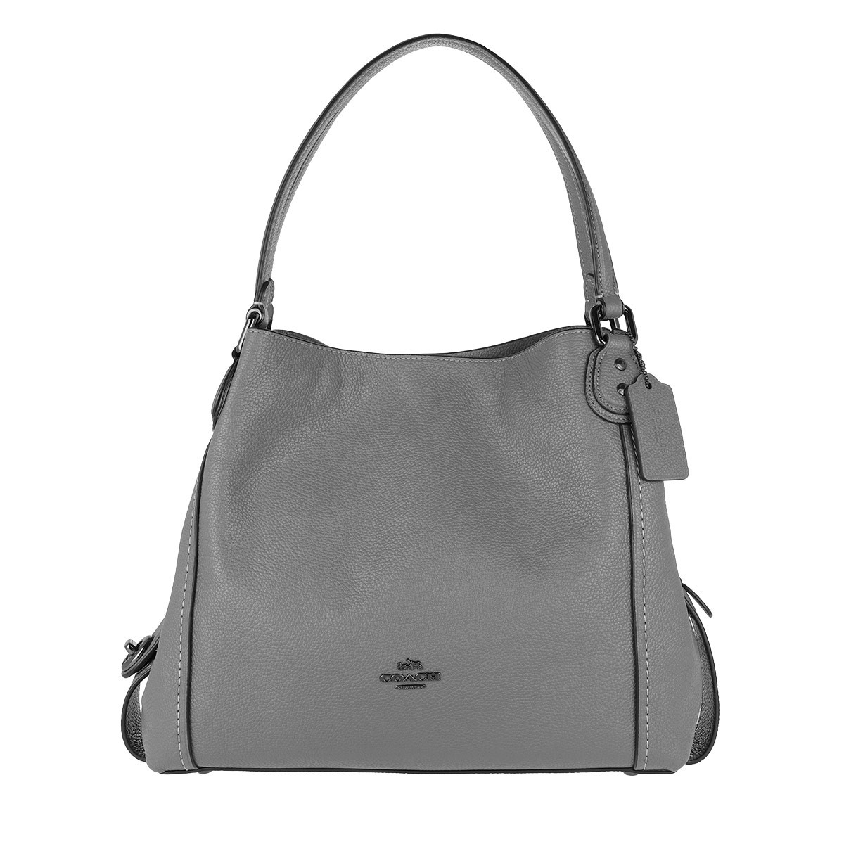 Coach Tote - Polished Leather Edie 31 Shoulder Bag Heather Grey - in grau - für Damen