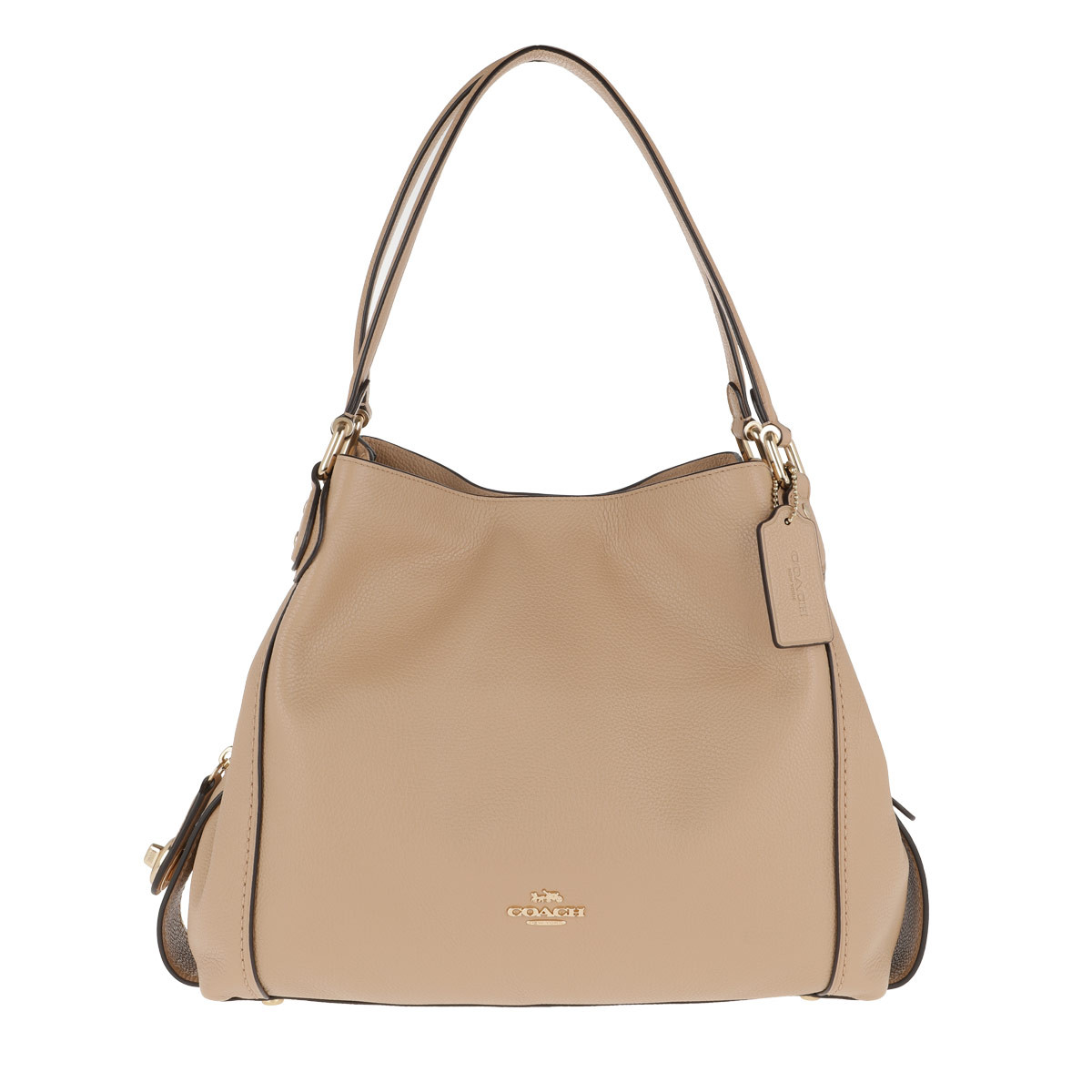 Coach Tote - Polished Pebble Leather Edie 31 Shoulder Bag Beechwood - in beige - für Damen
