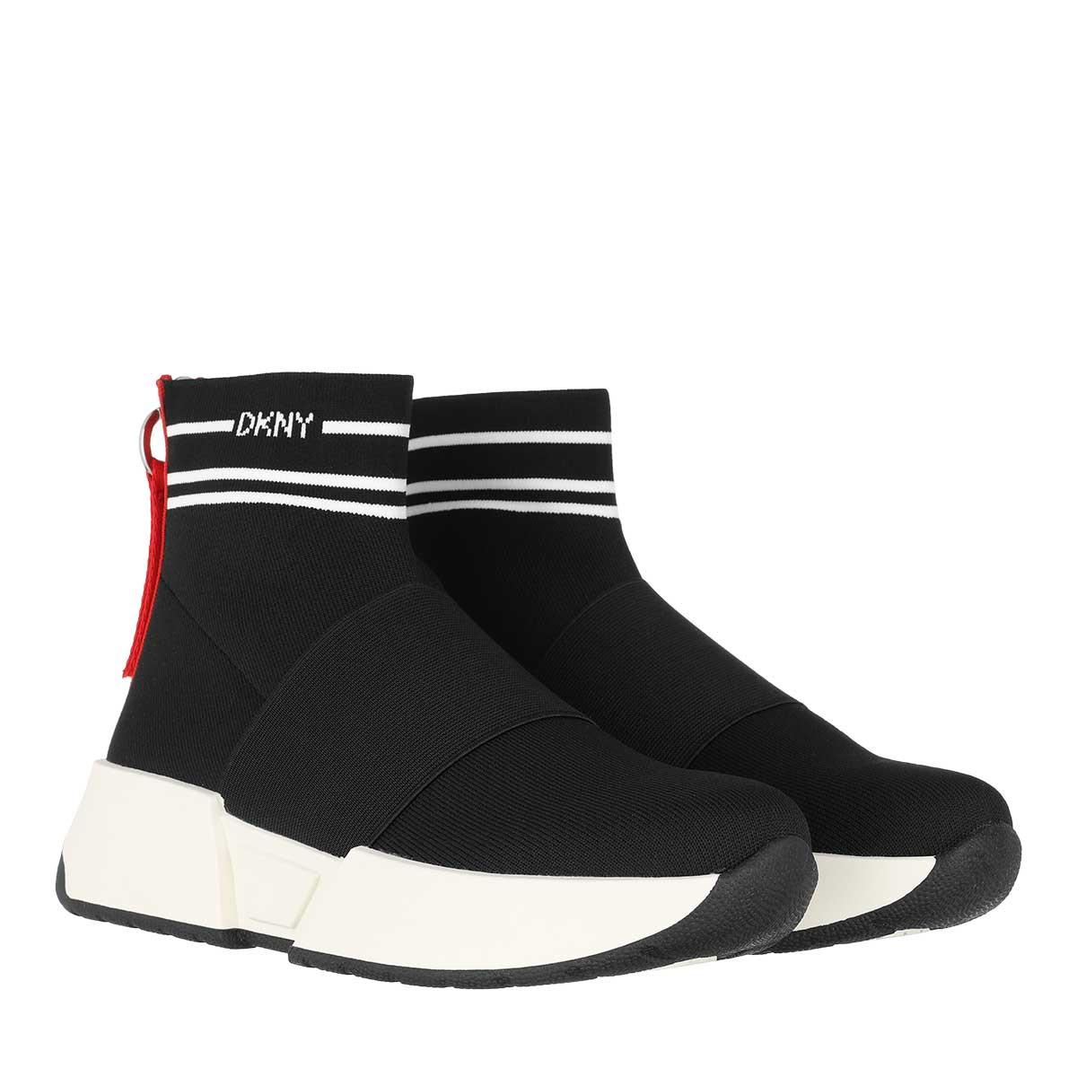DKNY Sneakers - Marini Slip On Sneaker Black White - in schwarz - für Damen