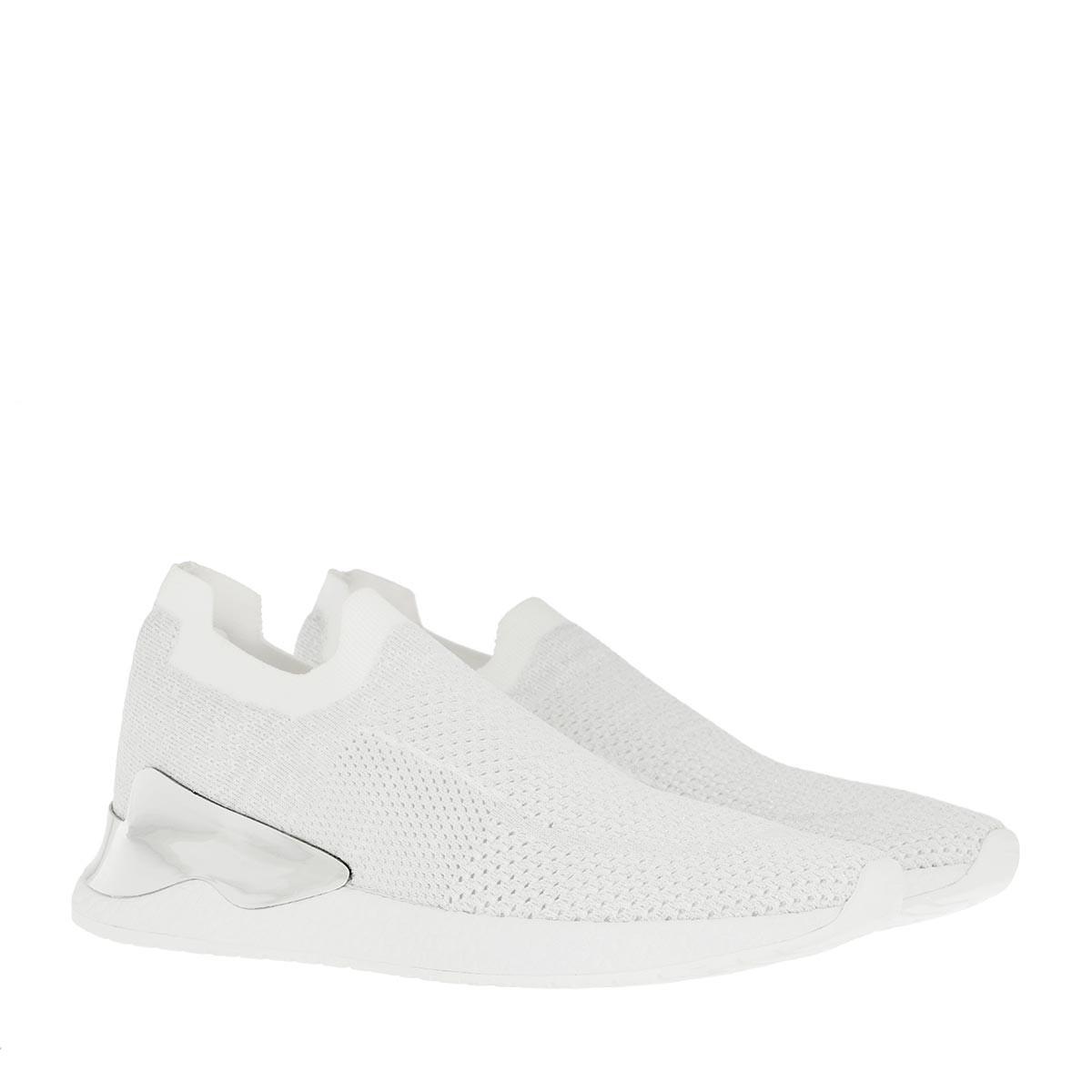 DKNY Sneakers - Rela Slip On Sneaker White/Silver - in silber - für Damen