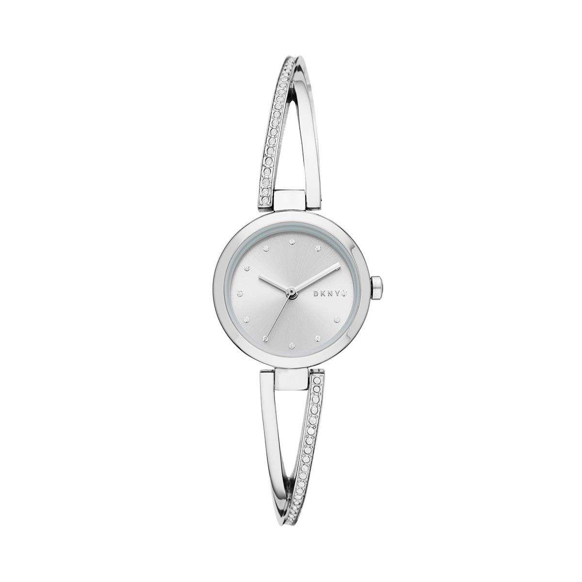 DKNY Uhr - Crosswalk Watch Silver - in silber - für Damen