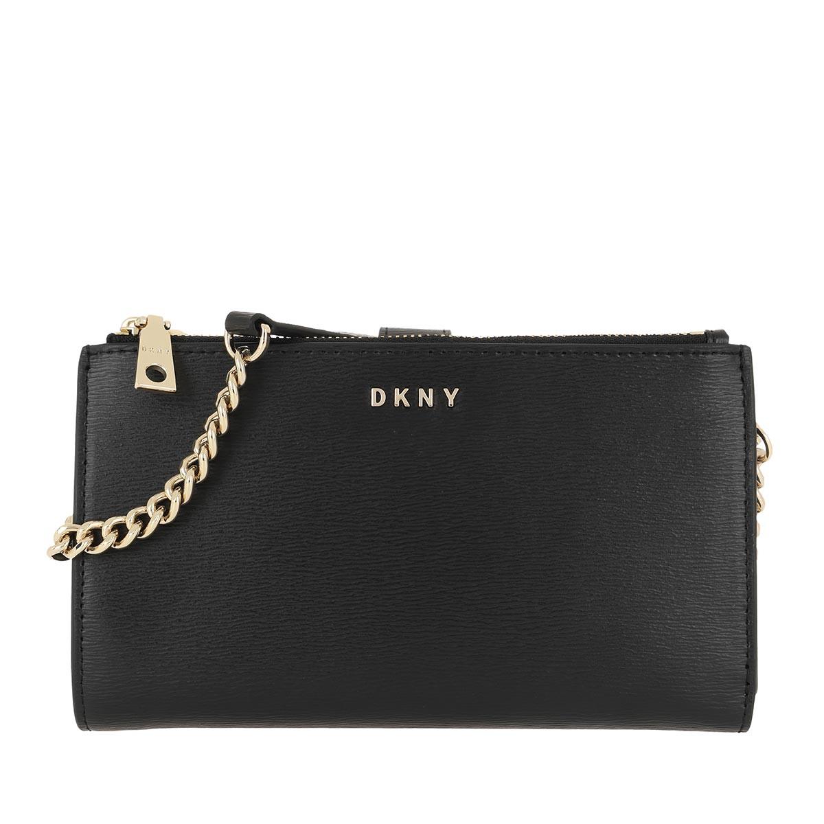 DKNY Umhängetasche - Bryant Crossbody Bag Black/Gold - in schwarz - für Damen