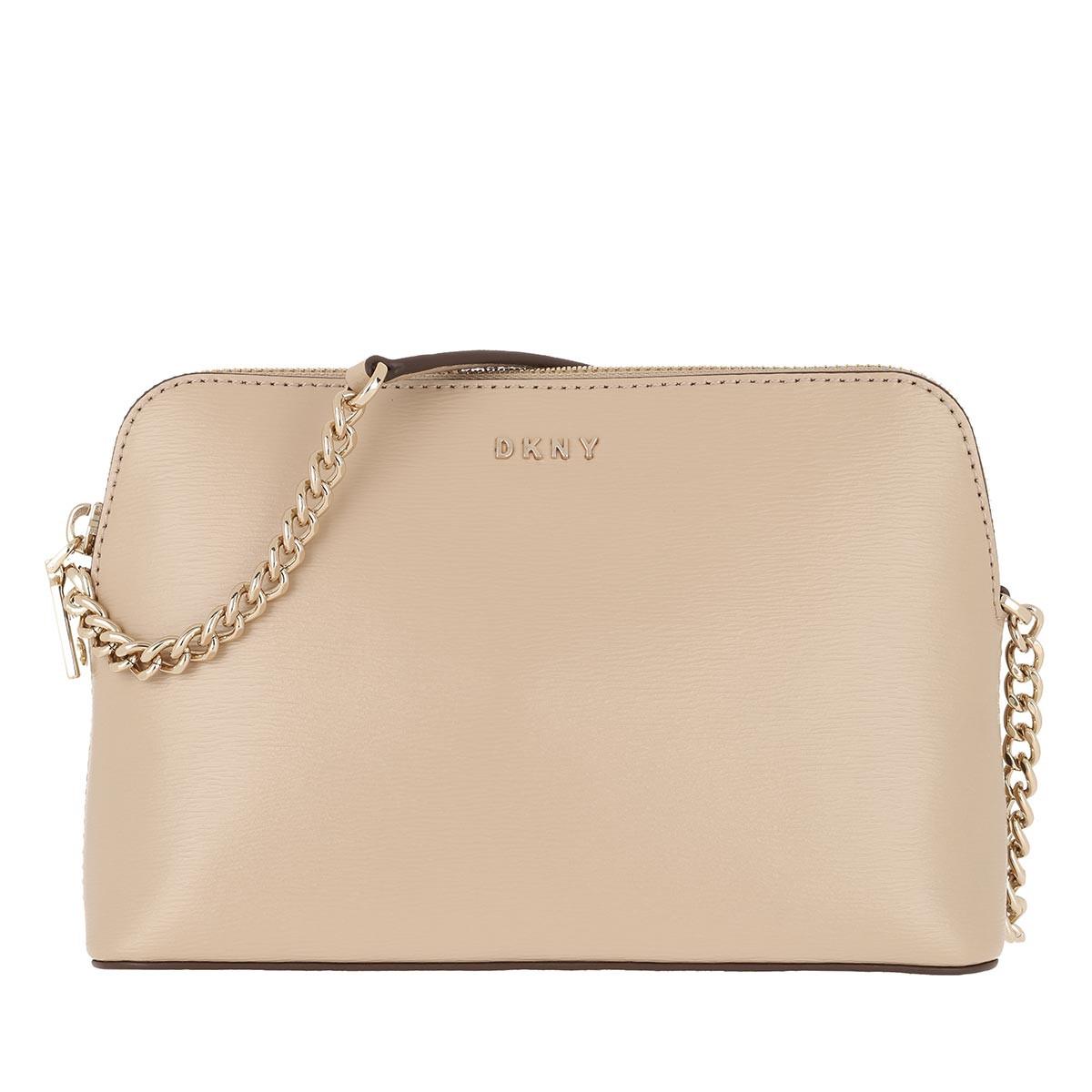 DKNY Umhängetasche - Bryant Dome Crossbody Bag Sand - in beige - für Damen