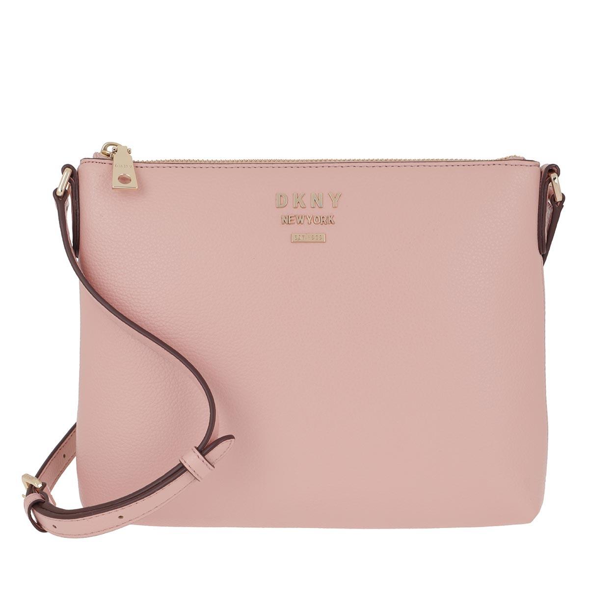 DKNY Umhängetasche - Whitney Flat Crossbody Bag Cashmere - in rosa - für Damen