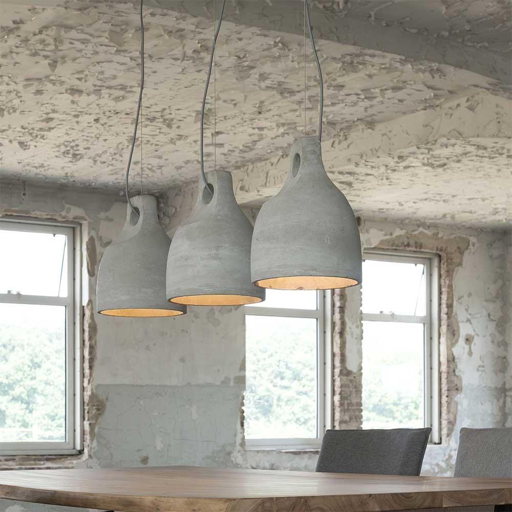 Deckenlampe aus Leichtbeton Loft Design