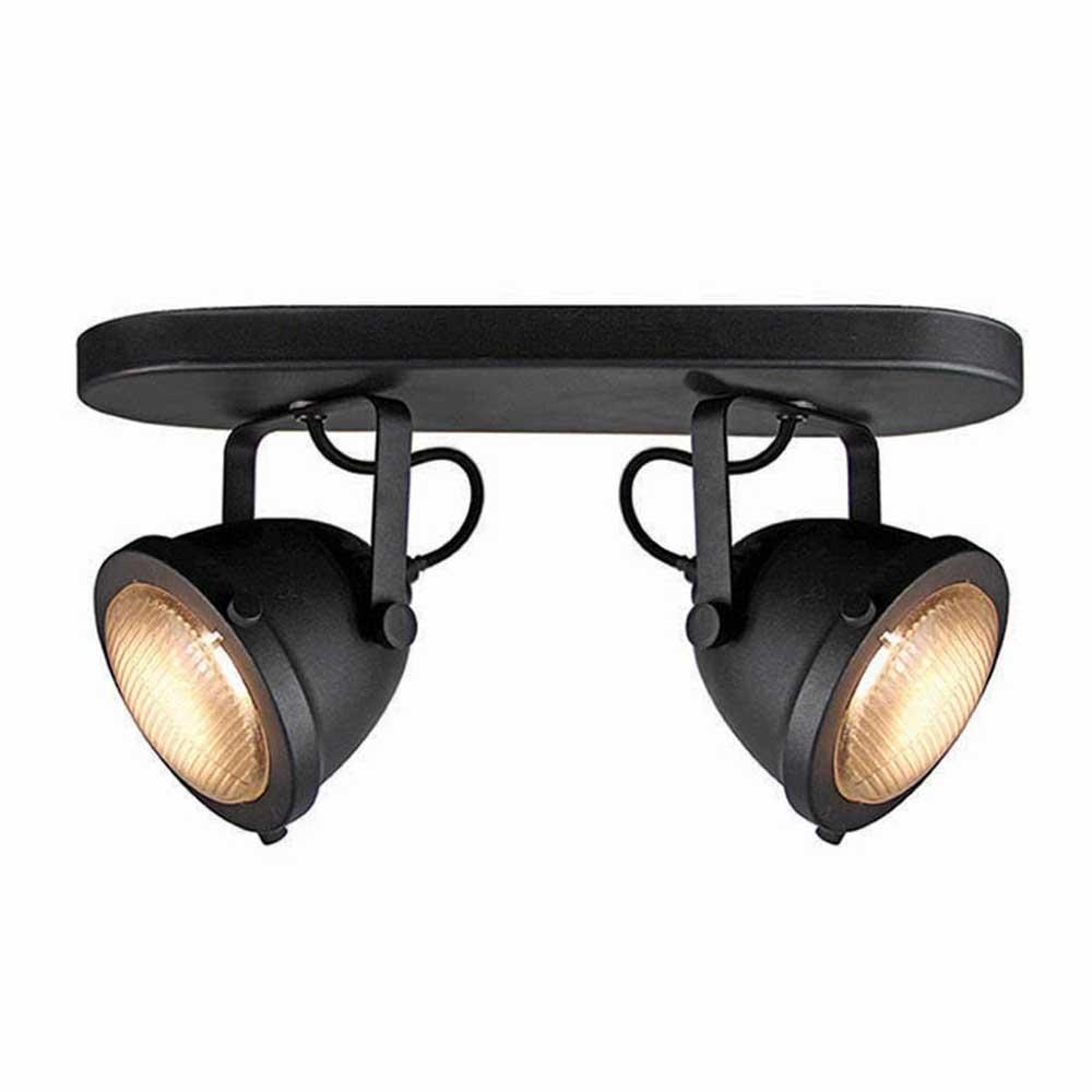 Deckenlampe in Schwarz LED Beleuchtung