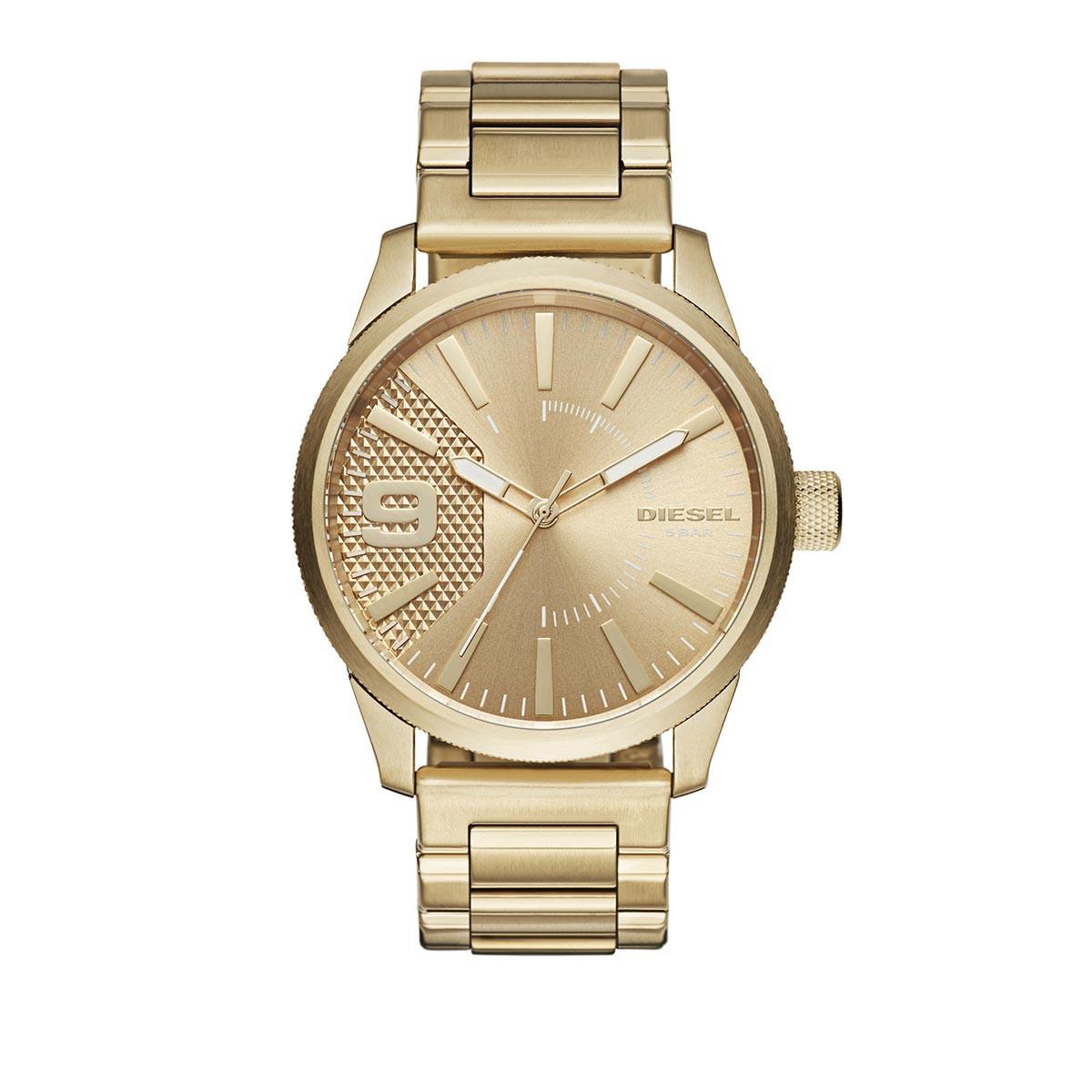 Diesel Uhr - RASP GOLD - in gold - für Damen