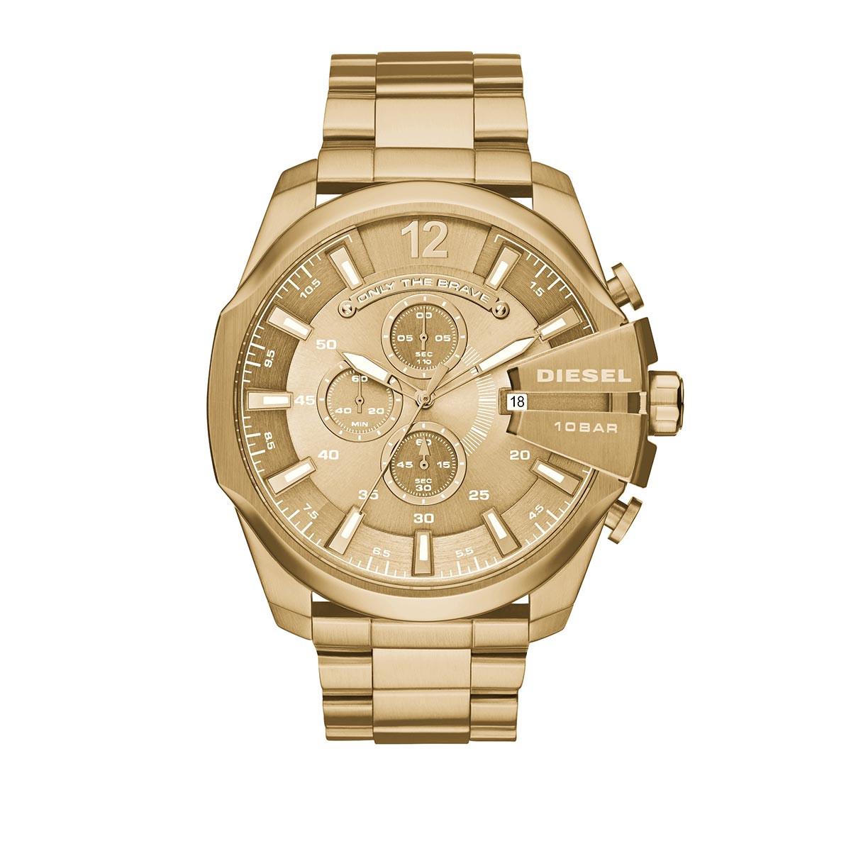 Diesel Uhr - Watch Mega Chief DZ4360 Gold - in gold - für Damen