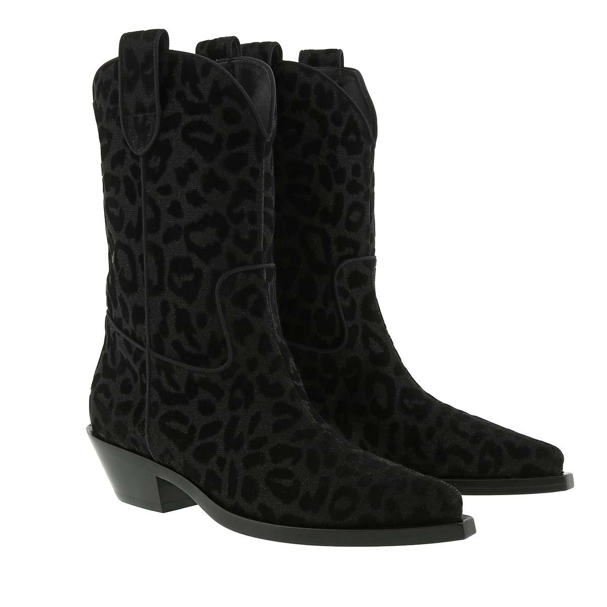 Dolce&Gabbana Boots - Texano Boots Nero - in schwarz - für Damen