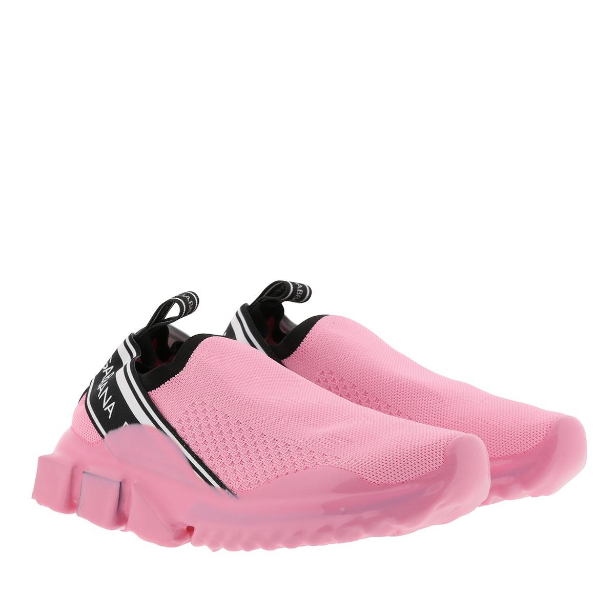 Dolce&Gabbana Sneakers - Sorrento Sneaker Melt Pink - in rosa - für Damen