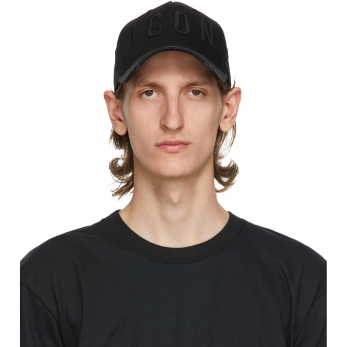 Dsquared2 Black Icon Baseball Cap