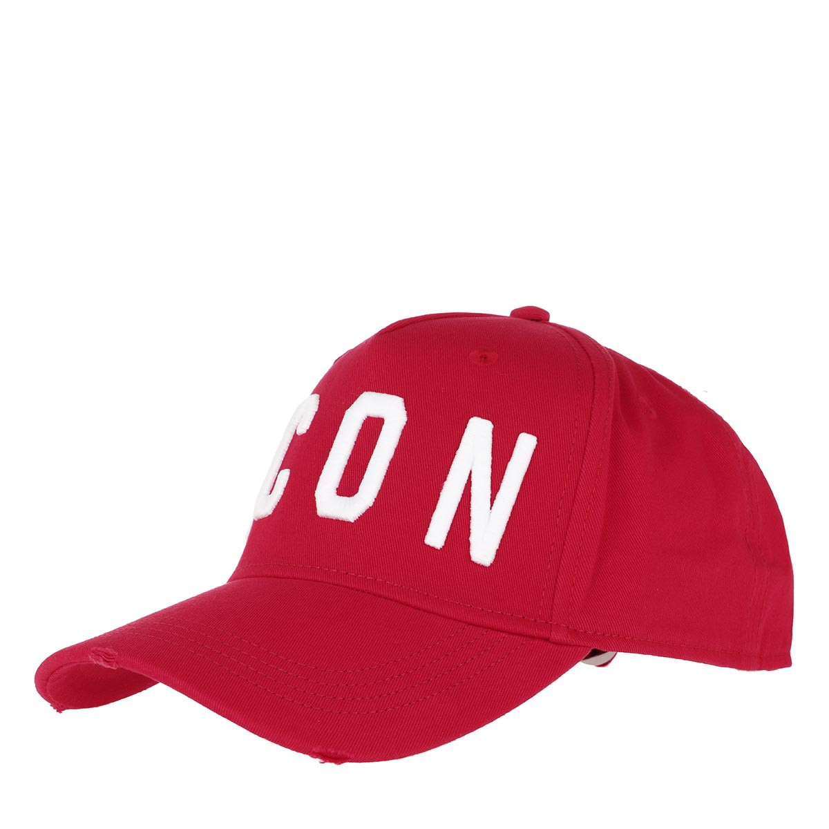 Dsquared2 Caps - Icon Baseball Cap Red/White - in rot - für Damen