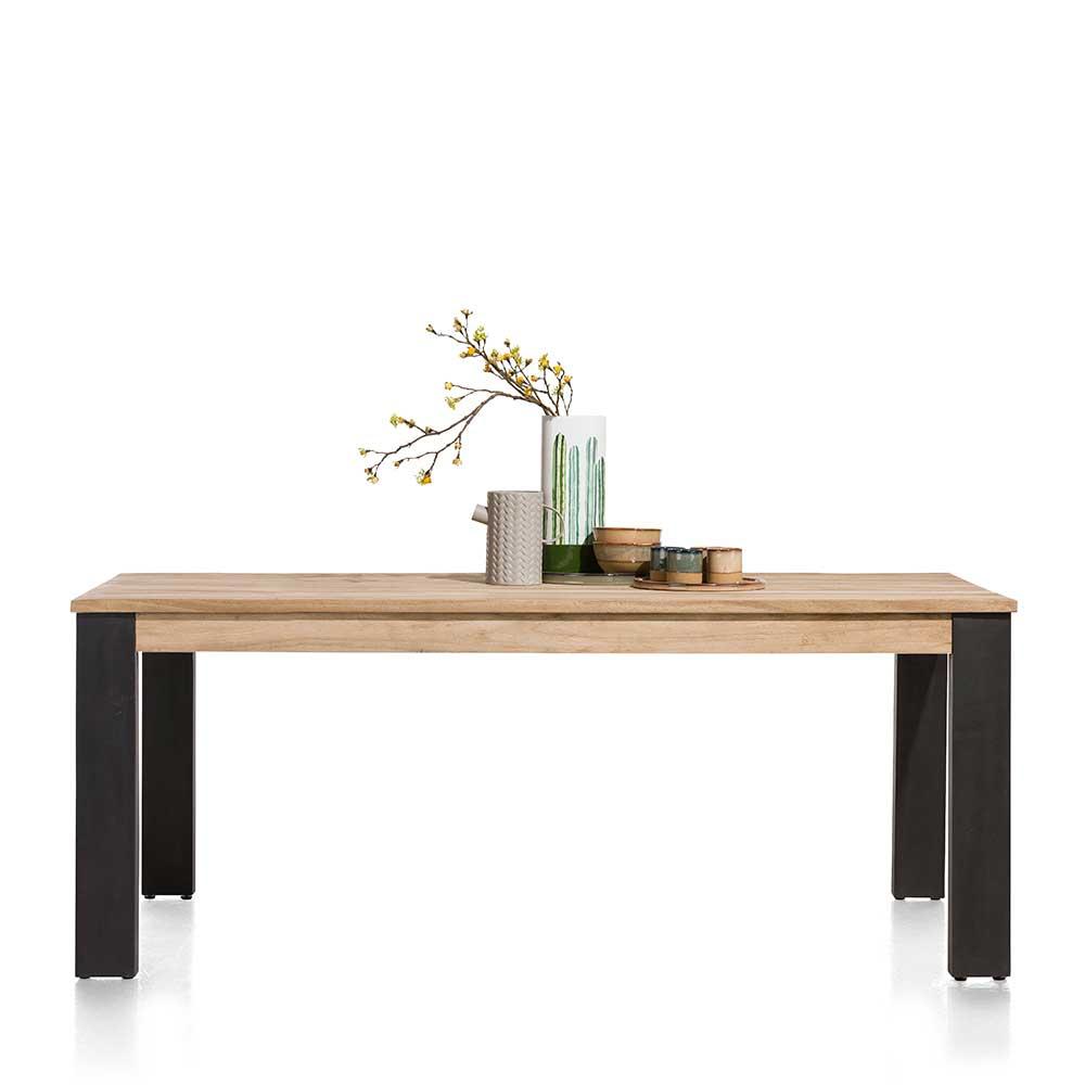 Esstisch mit Akazie furniert Loft Design