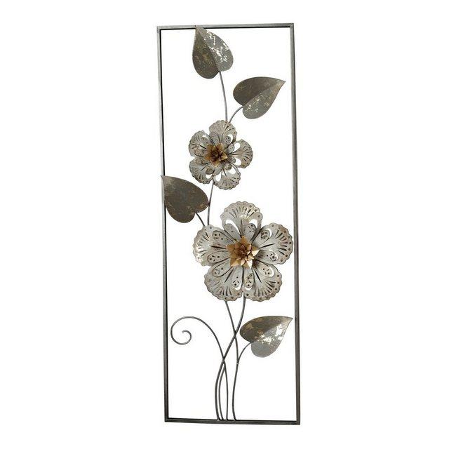"HTI-Line Wanddekoobjekt ""Wanddeko Silhouette Blumen"" (1 Stück)"